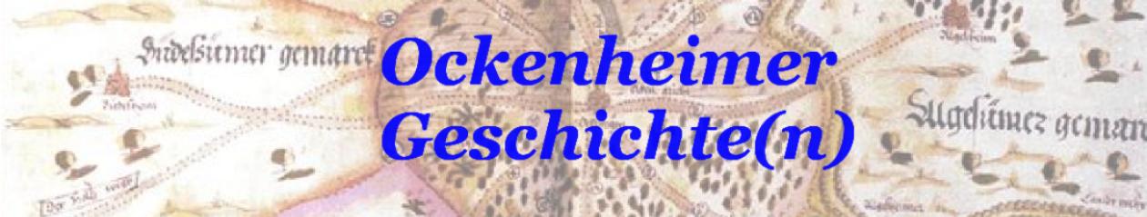 Eine Zeitreise durch die Ockenheimer Geschichte