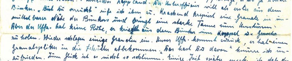 24. Juli 1944, St. Petersburg. Ein Brief von Philipp Weinheimer